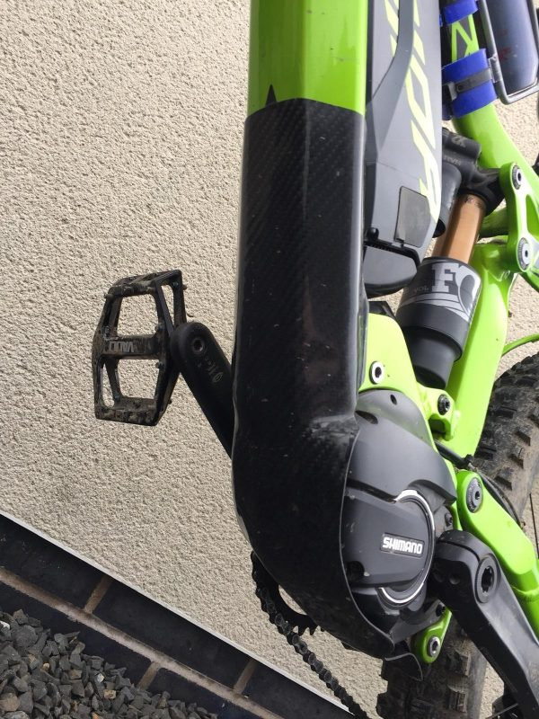 E-mtb bike frame protection